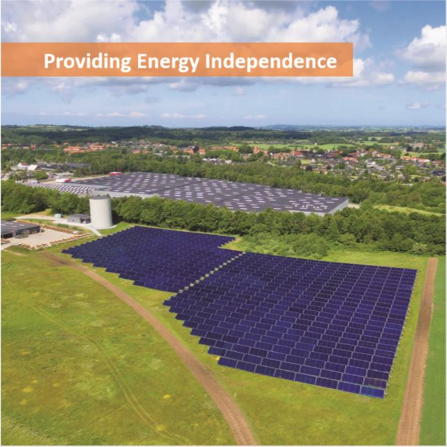 The highest solar thermal collector efficiency and energy density on the market