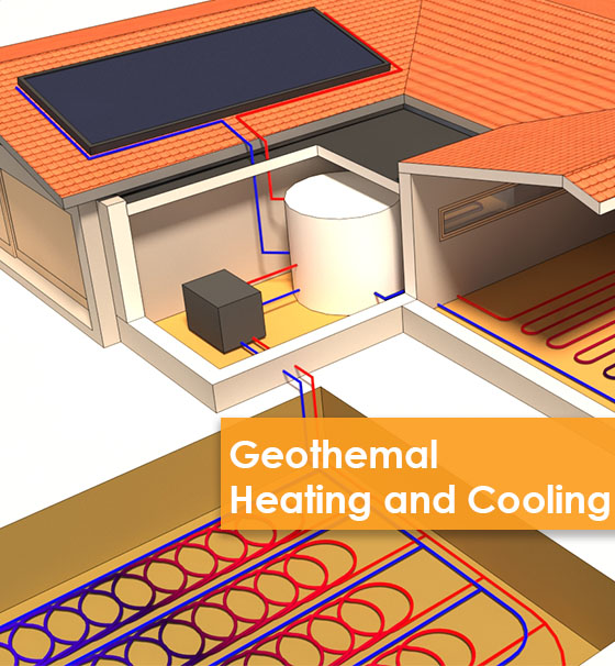 Geoflow Geothermal Heating and Cooling​ solution